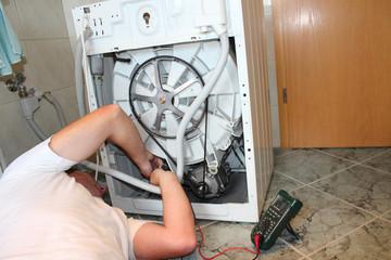 Waschmaschine und Messgerät