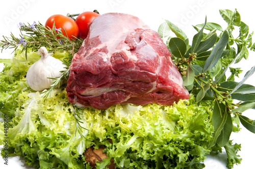 Sorra thin slice of meat cattle