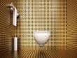wc gabinetto lusso benessere sauna bagno interior oro