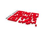 QR-CODE quick response - 3D poster