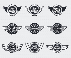 Vintage Styled Premium Quality labels
