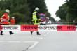 Feuerwehr - Sperrzone