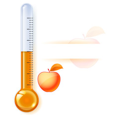 Thermometer by seasons
