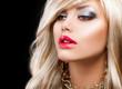 Blond Fashion Woman Portrait. Blonde Hair