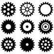 set of gear wheels - 44860204