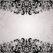 Luxury background with vintage frame and stripe paper for design
