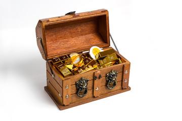 Schatzkiste Goldschatz