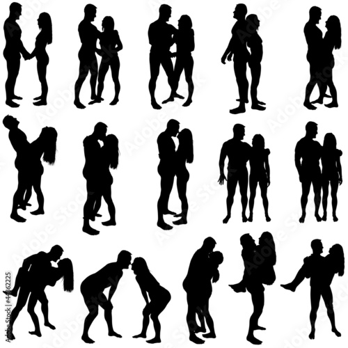 Lovers Silhouettes
