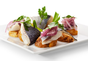 Cold Fish Dishes - Fish with Potato