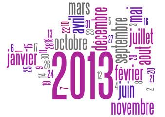 Nuage de Mot : 2013