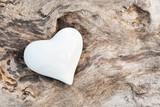 Fototapety Weißes Herz
