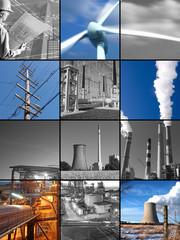 renewable energy b&w