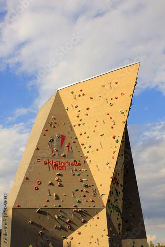 Kletterwand in Wien