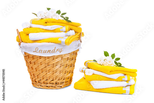 Laundry wicker Basket