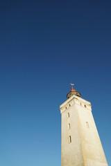 Leuchtfeuer Rubjerg Knude gegen blauen Himmel