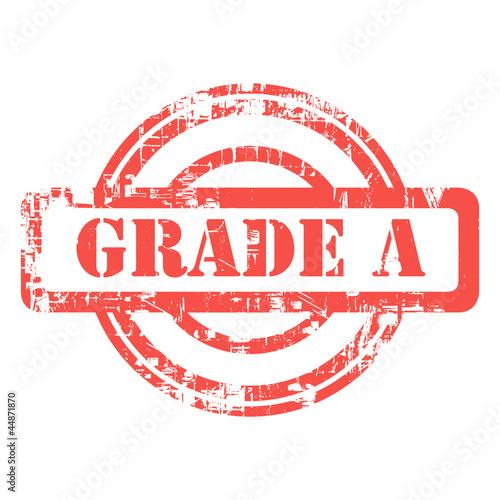 Grade A stamp