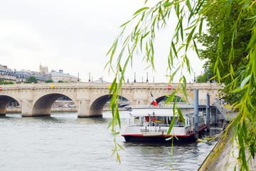 The boat of the Seine, Paris