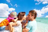 Fototapety family beach