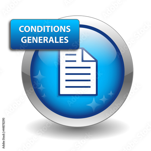 "Bouton Web ""CONDITIONS GENERALES"" (vente contrat utilisation)"