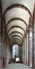 Cathédrale de Speyer, nef latérale