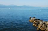 Fototapety Lac Léman, Suisse