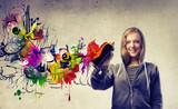 Fototapety Graffiti