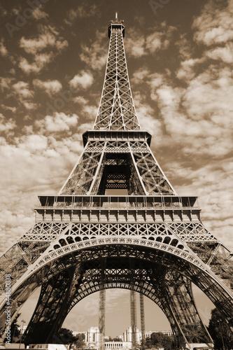 Free Eiffel Tower Picture Sepia on Sepia Eiffel Tower    Duverbaynes  44880838   See Portfolio