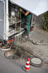 Abwassernetz prüfen
