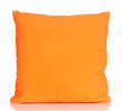 Bright color pillow isolated on white
