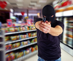 Robbery in the store