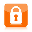Safety lock icon