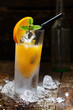 Orange Alcohol Drink
