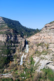 Vista de las Cataratas de Sant Miquel del Fai. Catalunya poster