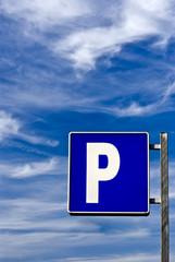 Señal de aparcamiento