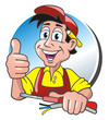 Electrician Thumb up