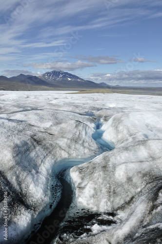 Vatnajokull glacier at summer, Iceland
