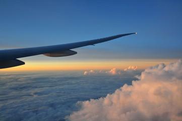 Urlaubs Flieger