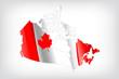 Karte Kanada
