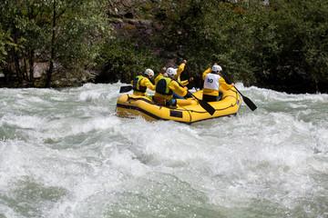 rafting giallo