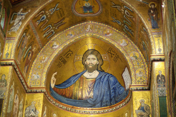 Monreale Cathedral: Blessing Christ