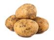 Ripe potatoes