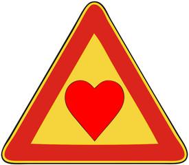 Attenzione, amore in corso