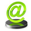 e-Mail Zeichen 3D