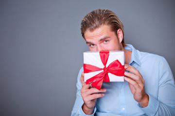 geschenk mann