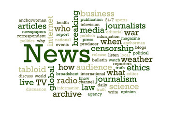 News Word Cloud