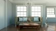 beiges Sofa im Raum