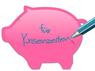Sparschwein für Krisenzeiten