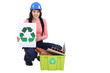 Builder recycling materials