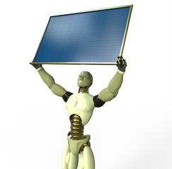 Humanoid Solar Energy
