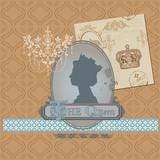 Scrapbook Design Elements - Vintage Royalty Set - in vector poster
